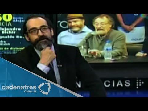 Entrevista a Bruno Bichir, destacado actor mexicano