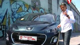 """Дизельный Peugeot 308 в программе """"Первый тест"""" (часть 1)"""