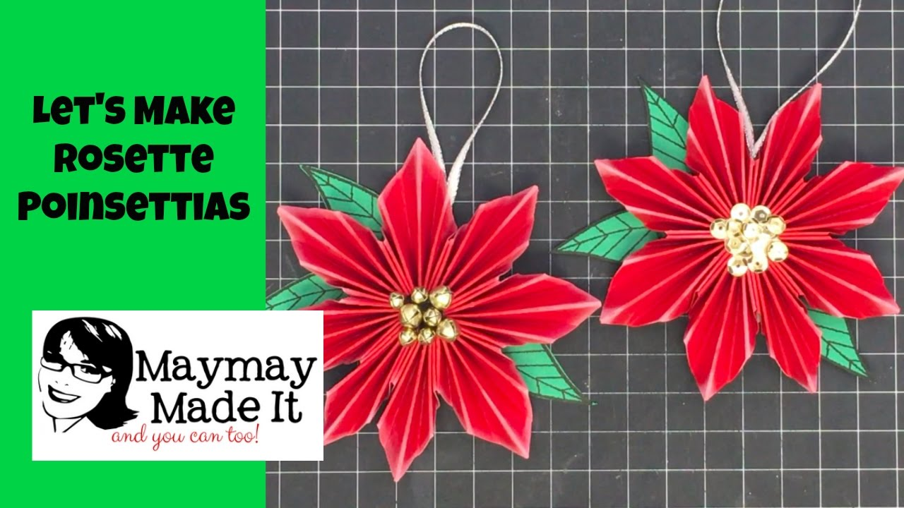 Origami Poinsettia DONATIONWARE craft tutorial : PlanetJune Shop ... | 720x1280