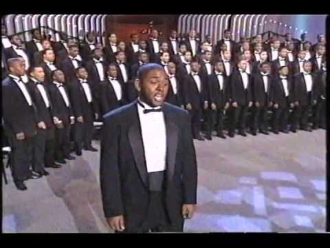 Morehouse Men's Glee Club - Mary Had A Baby