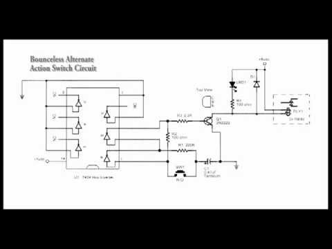 Push On Push Off Switch Circuit Push On Push Off Alternate