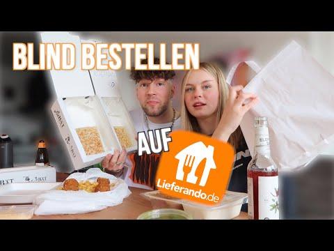 ceddo und ich bestellen blind essen!