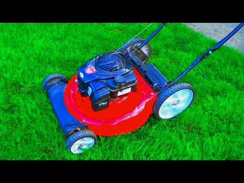 Newer YARD MACHINES TROY-BILT LAWNMOWER will not start after STORAGE. HOW TO CLEAN the CARBURETOR