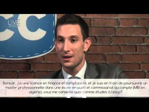 MEB Chat Live Web - Master In European Business ESCP Europe