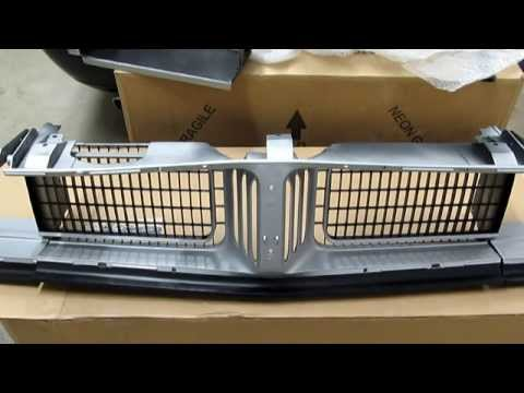 Unboxing New 1969 Dodge Charger Grill from Classic Industries MB143505