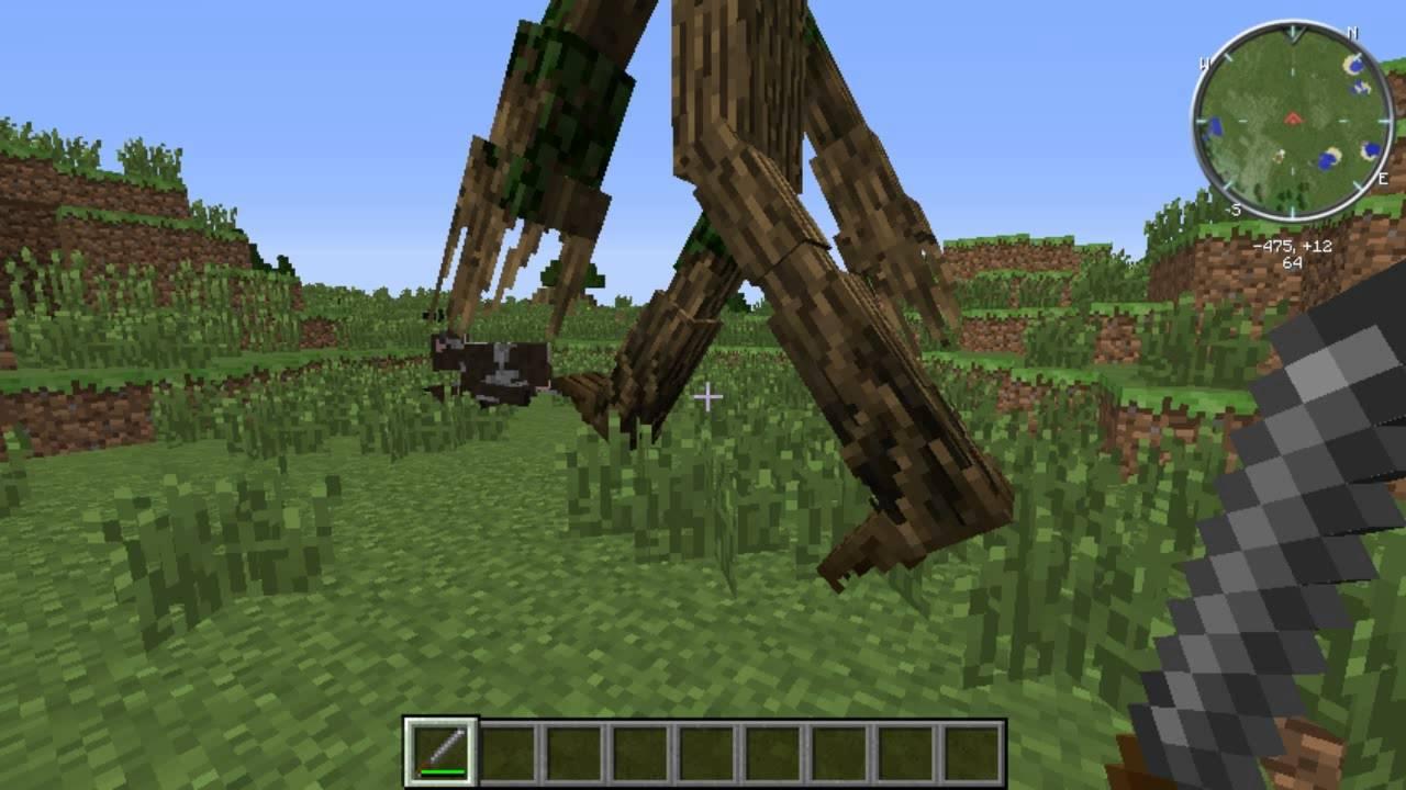 Minecraft mod สัตว์ 1.7.10 skv