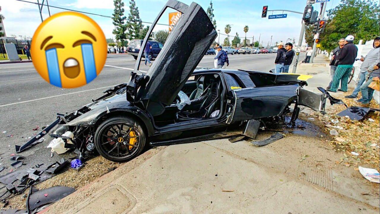 Lamborghini Crash Destroys My Friends Dream Car Emotional Youtube