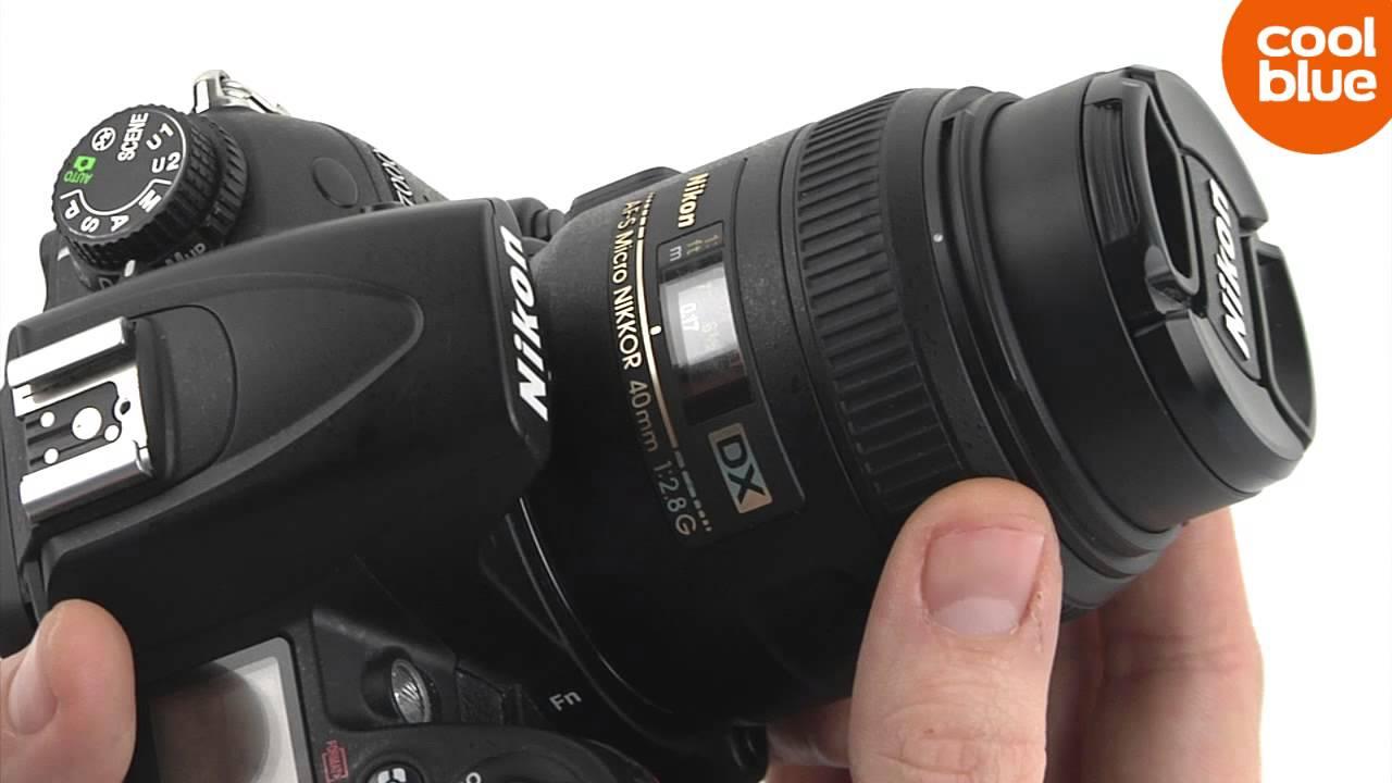 Nikon AF-S 40mm f/2.8G DX Micro Nikkor review en unboxing ...