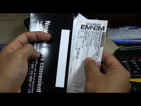 Eminem tickets: Online vs In line