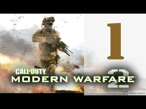 Let's Play Call of Duty Modern Warfare 2 ep. 1 - THE SCOPES