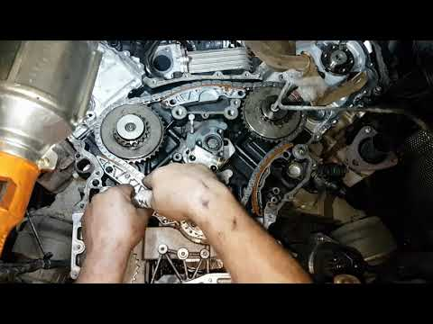 Фото к видео: Audi A6 2.7 TDI Timing Chain Replacement | Time-Lapse