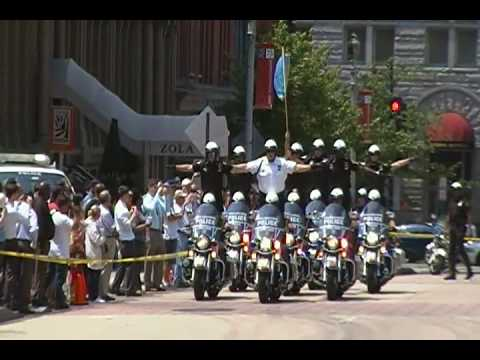 Police Week 2010 Philadelphia Police Motor Drill Team (video 4)