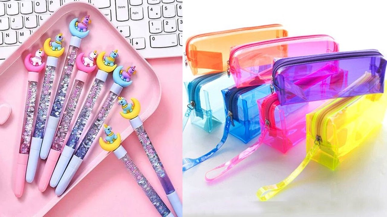 DIY 15 SCHOOL SUPPLIES FROM HOME MATERIALS-BACK TO SCHOOL-Plush Notebook,Liquid pencil case and more