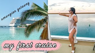 my first cruise! with a bunch of tips for first time cruisers! (VLOG) Norwegian Getaway | ELA BOBAK