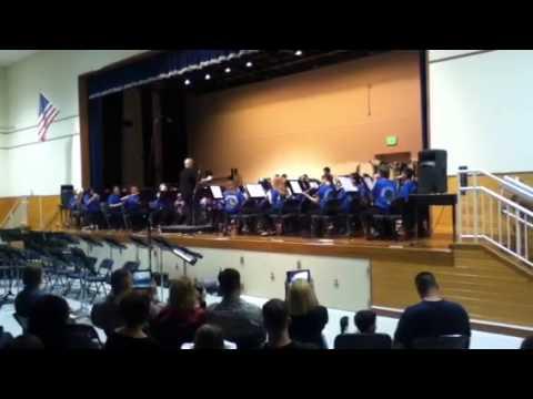 Ryukyu Middle School Spring Performance 2013