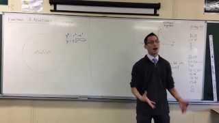 Equations of Semi-Circles