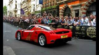 Ferrari Enzo sets off ALARM!!!! Amazing sound!!