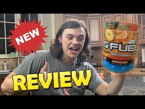 BRAND NEW GFUEL FLAVOR REVIEW - BAHAMA MAMA - TASTE AND SMELL TEST