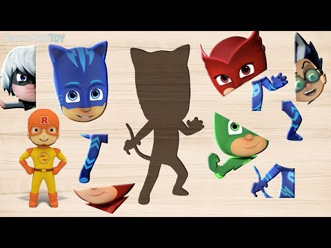 Pj masks Jigsaw Puzzle, Play together❤️ Rachaman Toy