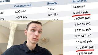 Сколько приносит паблик вконтакте на 100 ТЫСЯЧ подписчиков - РСВК вконтакте