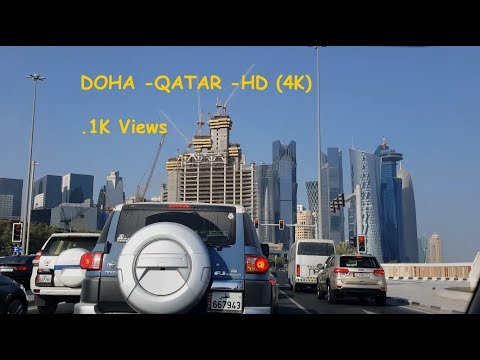 Doha Qatar, Corniche Road in HD(4k), Best Video, Tourist Guide