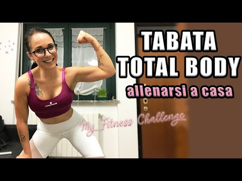 ALLENAMENTO TABATA TOTAL BODY a casa  - #MYFITNESSCHALENGE