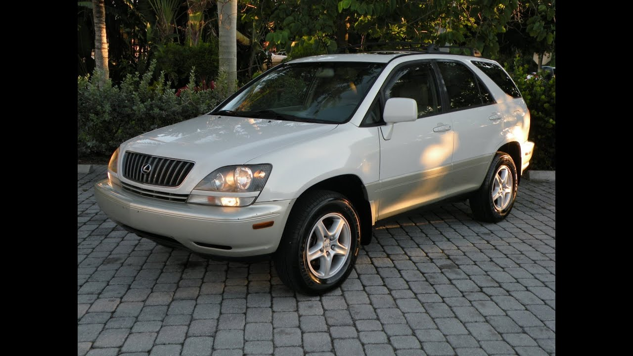 1999 lexus rx300 for sale auto haus of fort myers florida youtube. Black Bedroom Furniture Sets. Home Design Ideas