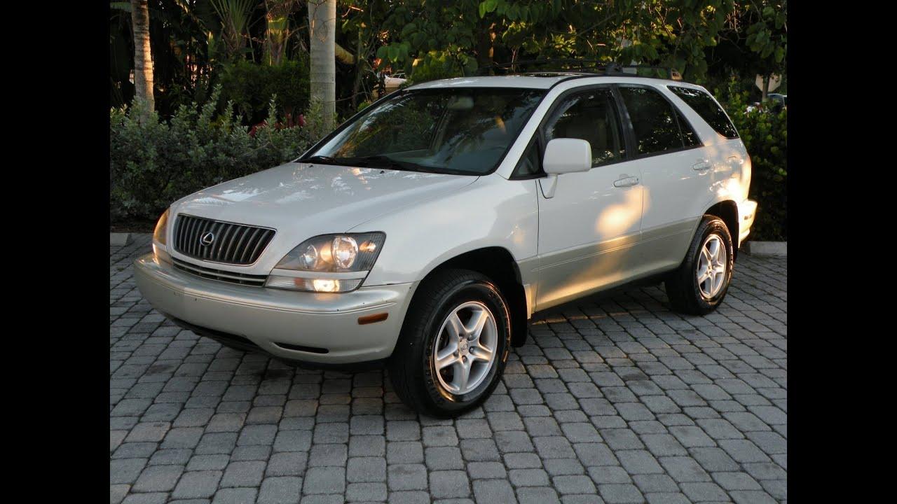 1999 lexus rx300 for sale auto haus of fort myers florida [ 1280 x 720 Pixel ]