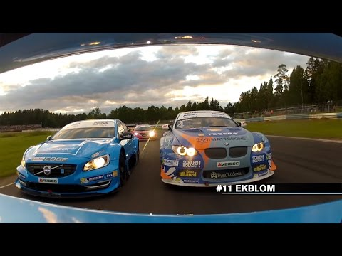 2015 STCC Onboard Action with Volvo Polestar Racing