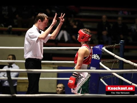Golden Girl Boxing Galla