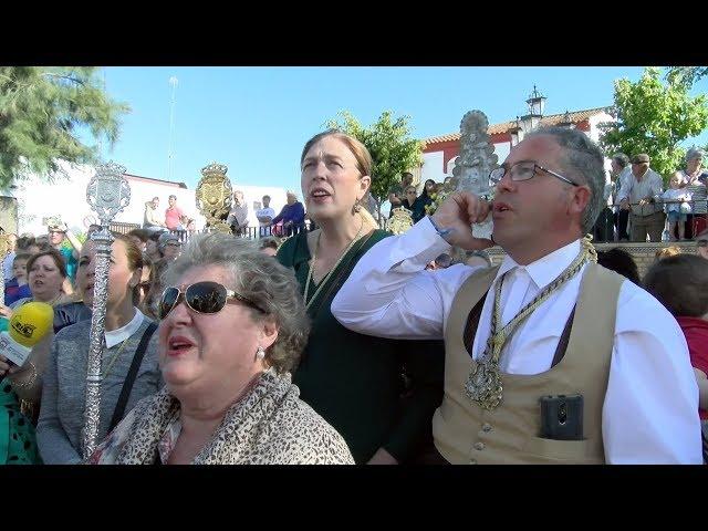 Cartaya recibe a las hermandades del Rocío de Isla Cristina y Ayamotne