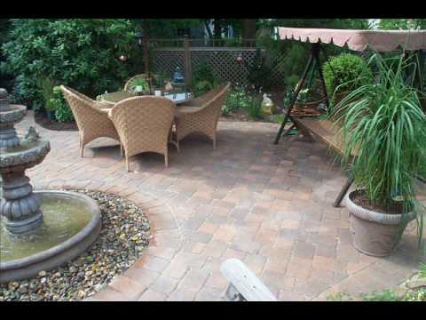 hardscape projects and plants