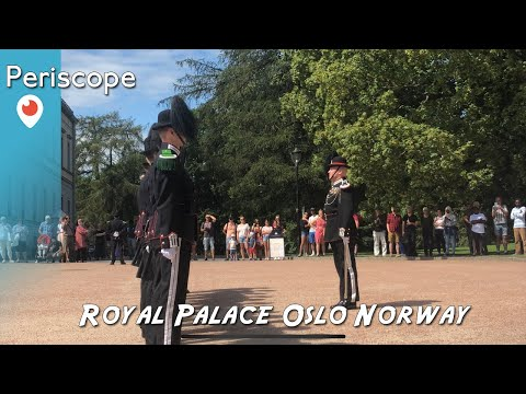 Periscope Rewind  - Oslo Royal Palace