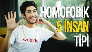 Homofobik 5 İnsan Tipi | Arda Bektaş