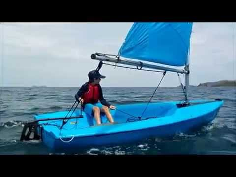 Sailboat racing in Costa Rica