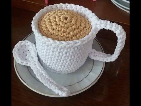 Gattino Nella Tazza Amigurumi Tutorial Cat In The Cup Crochet