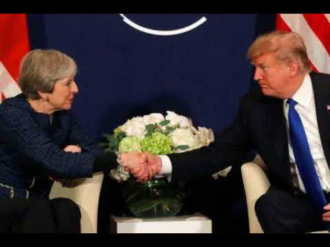 Theresa May To Urge Trump To Avoid London Protests During UK Visit: The Sun
