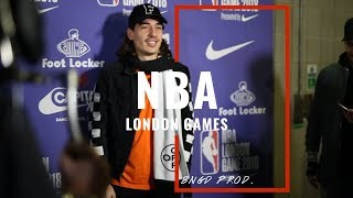 NBA 2018 LDN GAMES WITH HECTOR BELLERIN & MORE! 👀