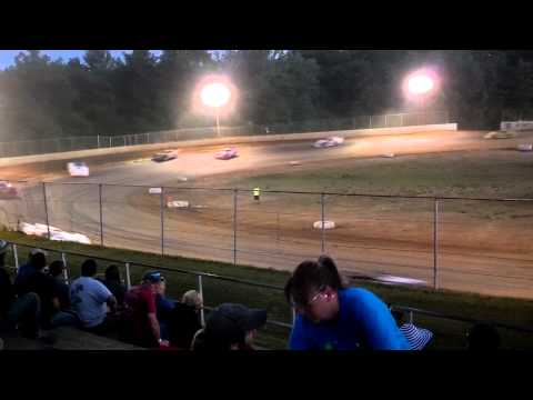 Late model feature at Twin Cities Raceway Park