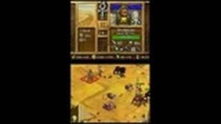 Age of Empires: Mythologies Nintendo DS Gameplay -