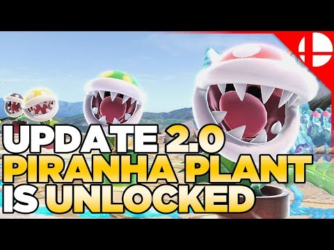 Piranha Plant in NOW Unlocked in Super Smash Bros Ultimate