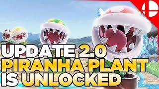 Piranha Plant in NOW Unlocked in Super Smash Bros Ultimate