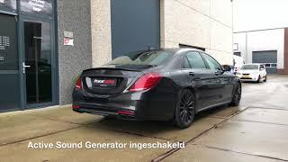 Sound Generator Mercedes S-klasse W222 Diesel - Pro Car Tuning
