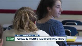"""""""Perfect storm"""" creating widespread teacher shortage in New York State, union says"""