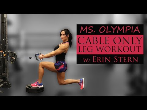 Complete Leg Workout | Cable Machine