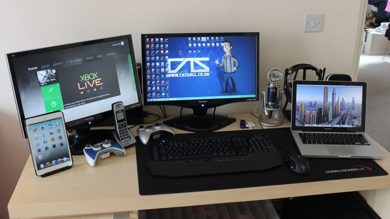 My Gaming Setup My PC  Review Products June 2013  YouTube