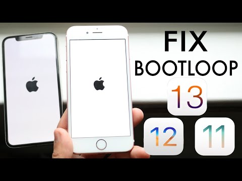 How To Fix Apple BOOTLOOP Issue Any iPhone, iPad, iPod! (iOS 13 / 12 / 11)