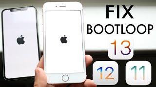 How To Fix Apple BOOTLOOP Issue Any iPhone, iPad, iPod! (iOS 13 / 12 / 11)