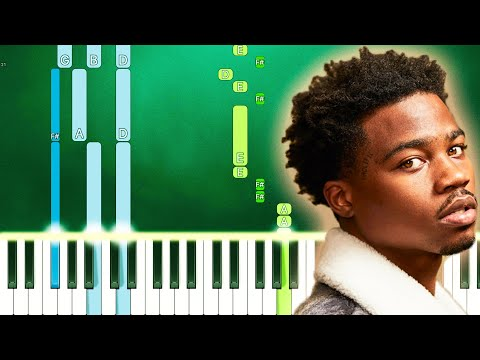 Roddy Ricch - High Fashion (feat. Mustard) (Piano Tutorial Easy) By MUSICHELP