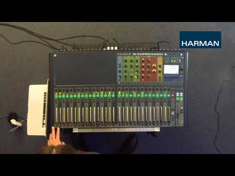 Si Consoles - TOTEM: Mixing to Monitors